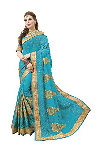 Indian Sarees For Women Wedding Designer Party Wear Pink Traditional Sari by Indianfashion Store