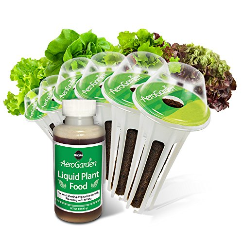UPC 810705133848, Miracle-Gro AeroGarden Salad Greens Mix Seed Pod Kit (6-Pod)