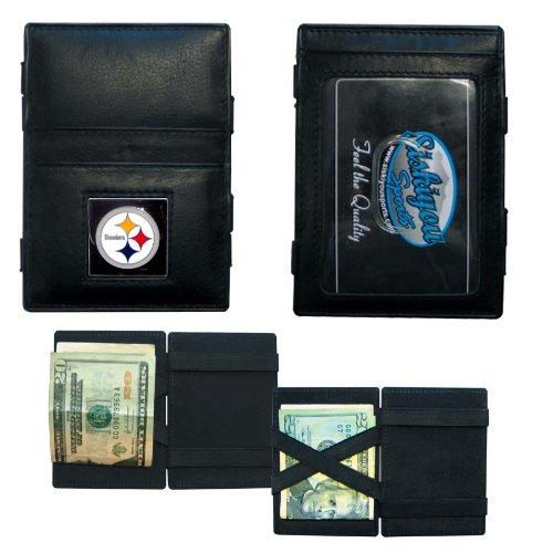 Siskiyou Gifts NFL Pittsburgh Steelers Leather Jacob's La...