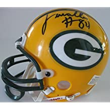 Javon Walker Green Bay Packers, Signed, Autographed, Mini Helmet, a COA Will Be Included