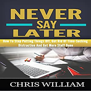 Never Say Later Audiobook