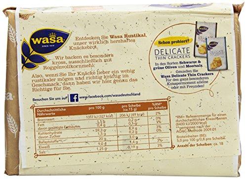 Wasa Knäckebrot Rustikal, 275 g: Amazon.de: Amazon Pantry