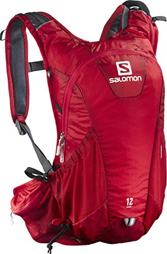 Salomon Backpack 12 Black Red Set Agile YzrxYq