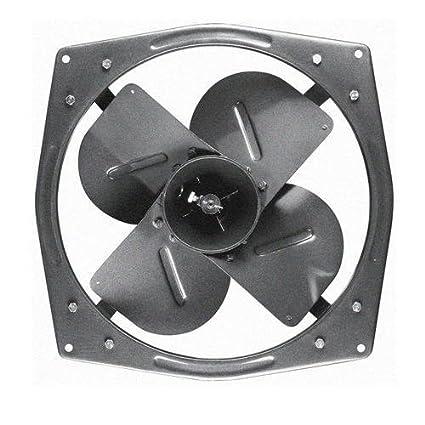 Prashant Enterprises Metal Exhaust Fan Blade 15 Inches Black Amazon In Home Kitchen
