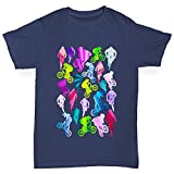 TWISTED ENVY BMX Rainbow Collage Boy's Navy T-Shirt Age 12-14