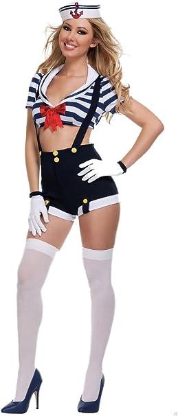 Traje de neopreno para mujer disfraz de marinera para mujer ...