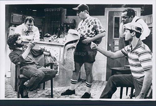 1960s Dennis Boutsikaris Josh Mostil Boys Next Door Actors Joe Urla Put through a mangle Photo