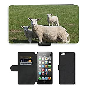 hello-mobile PU LEATHER case coque housse smartphone Flip bag Cover protection // M00137343 Ovejas Dyke Cordero Animal Dike // Apple iPhone 5 5S 5G