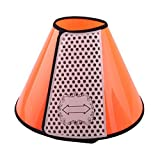 ORPERSIST Pet Soft Cone Protection Collar Dog Bite Prevention Pet Protection Device Cat Grooming Shield Cover(A9/A8/A7/A6/A5/A4/A3/A2/A1),A7
