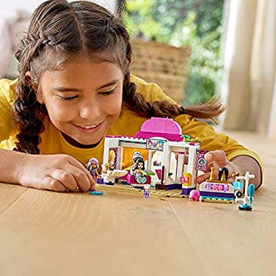 LEGO Friends Heartlake City Play Hair Salon Fun Toy 41391 Building Kit, Featuring LEGO Friends Character Emma, New 2020 (235 Pieces): Toys & Games