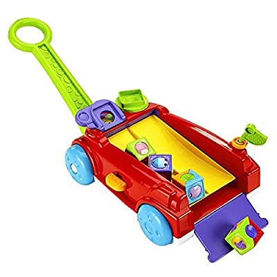 Fisher-Price Roller Blocks Rockin' Wagon: Toys & Games