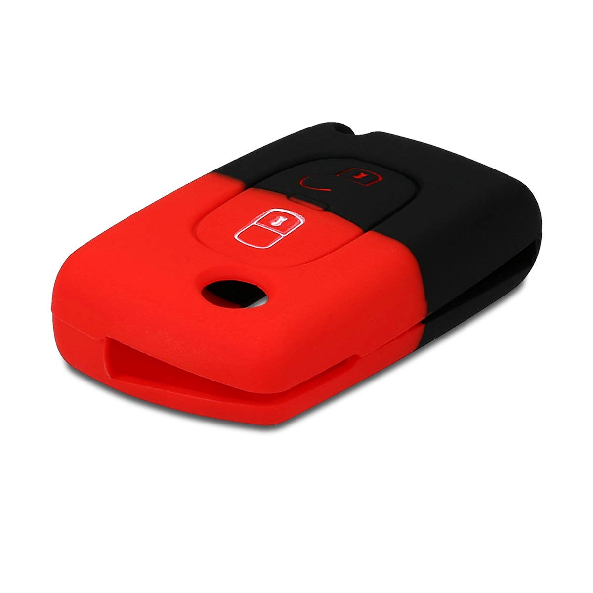 - Case Mando de Auto Suave Rosa Fucsia Silicona de Carcasa Protectora kwmobile Funda de Silicona para Llave Plegable de 2 Botones para Coche Peugeot Citroen