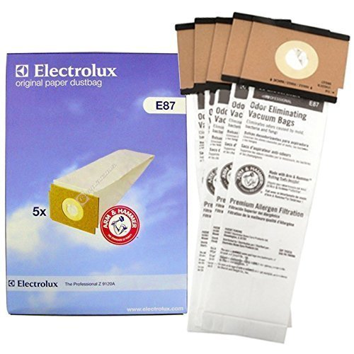 - Electrolux Z9100 Z9120 Vacuum Cleaner E87 Dust Bags (Pack of 5)