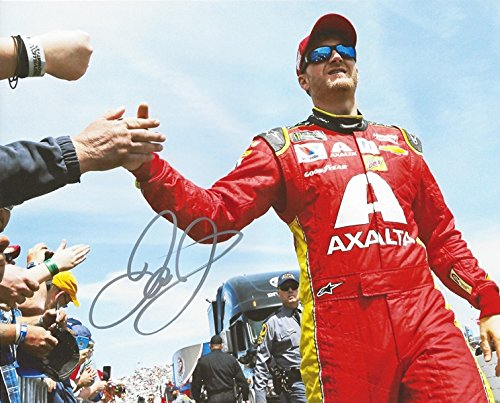 AUTOGRAPHED 2017 Dale Earnhardt Jr. #88 Axalta Racing DRIVER INTRODUCTIONS (Retirement Final Season) Monster Energy Cup Series Signed Collectible Picture NASCAR 8X10 Inch Glossy Photo with (Dale Earnhardt Photo)