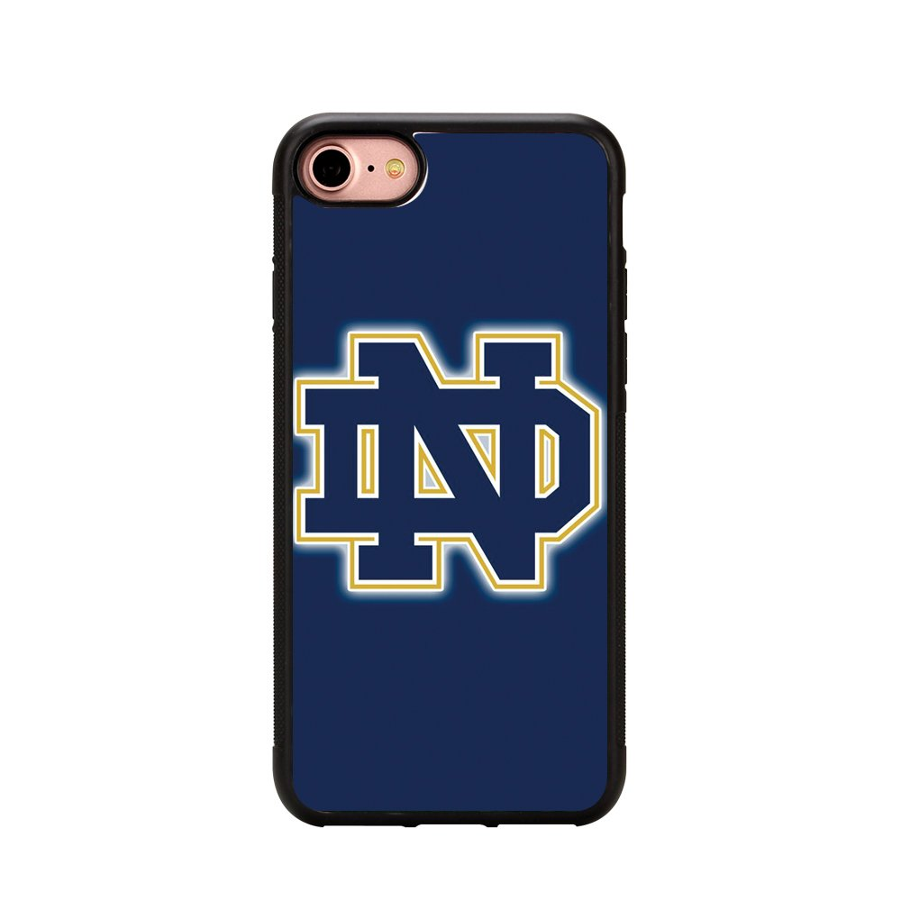 sports shoes f2e01 d321a Notre Dame Fighting Irish Iphone 7 Case,Notre Dame Fighting Irish Case  Phone Case for Iphone 7 4.7 Inches TPU Case