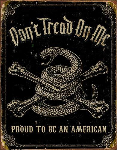 (Desperate Enterprises Tin Signs TSN1692-BRK DTOM Proud American)