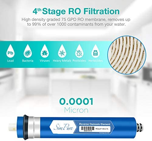 Silicon Phosphorus Crystal Made Silicon-Phosphorus 67130mm Pre-Filter Xianw Water Purifier
