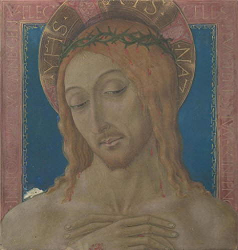 High Quality Polyster Canvas ,the Amazing Art Decorative Canvas Prints Of Oil Painting 'Matteo Di Giovanni Christ Crowned With Thorns ', 30 X 32 Inch / 76 X 80 Cm Is Best For Wall Art Gallery Art And Home Decor And Gifts