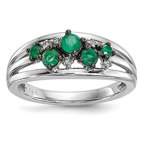 0.44 Ct Emerald Cut Diamond - 5