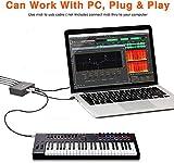 CAMOLA MIDI Thru 6 Box USB MIDI Interface 1-in