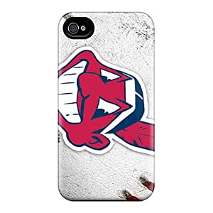 Shock Absorbent Hard Cell-phone Cases For Iphone 6 With Provide Private Custom Stylish Cleveland Indians Series AaronBlanchette