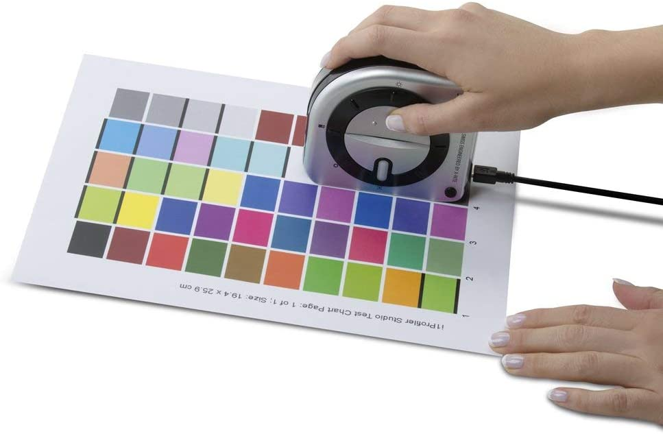Projector Color Calibration Target Camera Scanner EOSTUDIO Monitor and Printer Calibration for Photography EOSTUDIO Spectrophotometer /& Software Set X-Rite i1Studio Photography Renewed