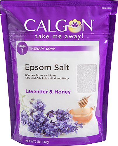 (Calgon Rejuvenating Epsom Salt (Lavender and Honey, 48-Ounce))
