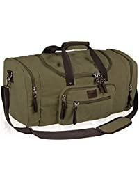 Duffle Bag Large Canvas Travel Tote Portable Luggage Bag Gym Sports Holiday Duffel Bag
