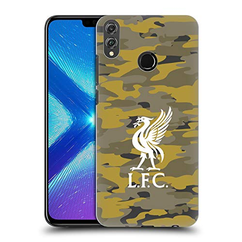 Official Liverpool Football Club Royal Colourways Liver Bird Camou Hard Back Case Compatible for Huawei Honor 8X / View 10 Lite