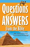 Questions and Answers from the Bible, Barbour Publishing, Inc. Staff, 1602606102