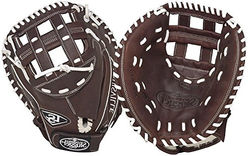 Louisville Slugger FGXPBN5 Xeno Pro Brown Fielding Glove (Catcher), Left Hand (Preferred Baseball Catchers Mitt)