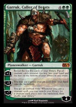 Magic: the Gathering - Garruk, Caller of Beasts (172/249) - Magic 2014 (Magic The Gathering Garruk Caller Of Beasts)