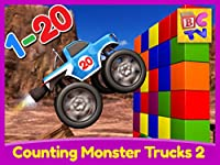 Counting Monster Trucks Part 2 - 1 to 20