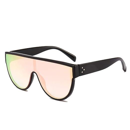 Yangjing-hl Gafas de Sol de una Pieza Moda Big Box Street ...