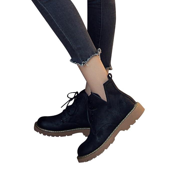 Stiefel Damen Boots Wildleder Leder Stiefel Frauen Niedrige