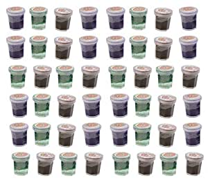 Bulk - 48 Witch's Potion - Mini Slime Containers for Halloween Goody Bags - Trick or Treat