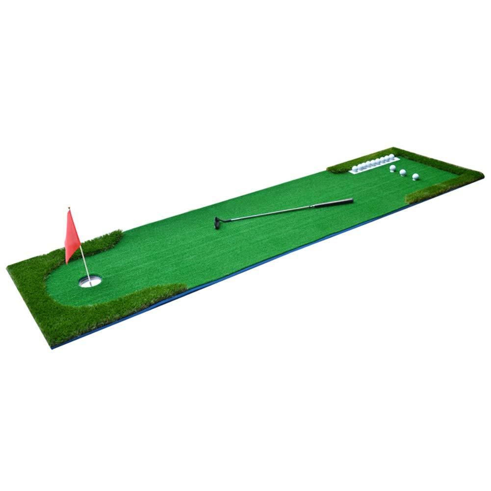 パッティングマット ゴルフパットトレーナーマット10フィート屋内/屋外、ポータブルプロフェッショナル練習ミニゴルフトレーナーパットグリーン (サイズ さいず : 300cm×75cm) 300cm×75cm  B07L88QPHZ