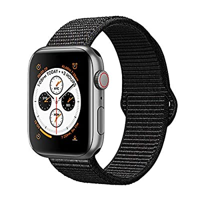 AdMaster Compatible for Apple Watch Band 38mm 40mm 42mm 44mm, Soft Nylon Sport Loop Replacement Wristband Compatible iWatch Apple Watch Series 4/3/2/1 - 4007006 , B07LG41F97 , 454_B07LG41F97 , 11.9 , AdMaster-Compatible-for-Apple-Watch-Band-38mm-40mm-42mm-44mm-Soft-Nylon-Sport-Loop-Replacement-Wristband-Compatible-iWatch-Apple-Watch-Series-4-3-2-1-454_B07LG41F97 , usexpress.vn , AdMaster Compatible f