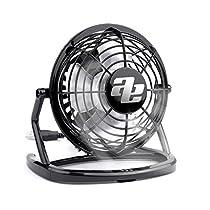 オーディオエキストラUSB扇風機 卓上扇風機 ミニファン 静音 360...