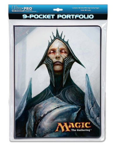 Utra Pro The Magic the Gathering (MTG) - (Future Sight Gaming Supplies) Magus of the Future / Maelstrom Djinn - Combo Portfolio Album (9 Pocket Trading Card Binder) by Ultra Pro