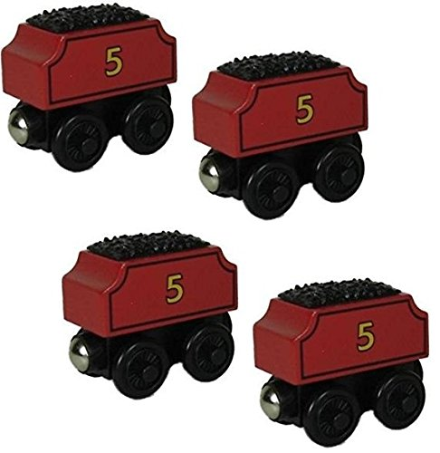 Thomas Wooden Railway Tank Engine Train - FOUR James Tenders - Loose Brand New