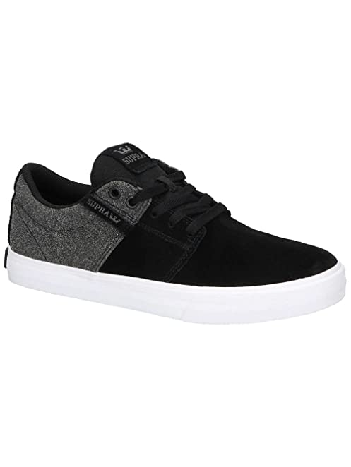 Supra Men's Stacks Vulc II Shoes Size 11 Black-White/Black