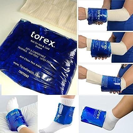 Torex - Bolsa de gel circular para tratamientos frío/calor ...
