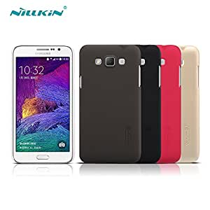 Deal4U Nillkin Frosted Hard Case Back Cover Case For Samsung Galaxy Grand Max / G7200 Gift Screen Protector #-# Color#=Red