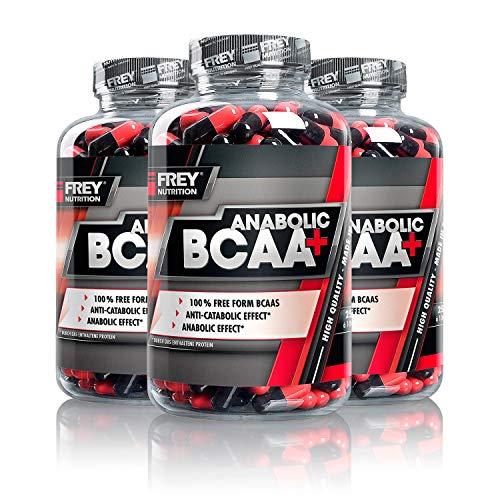 Frey Nutrition Anabolic BCAA, 3er Pack (3 x 250 g)