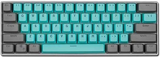 WUXXXTeclado para juegos, luz de teclado mecánico LESHP 105 ...