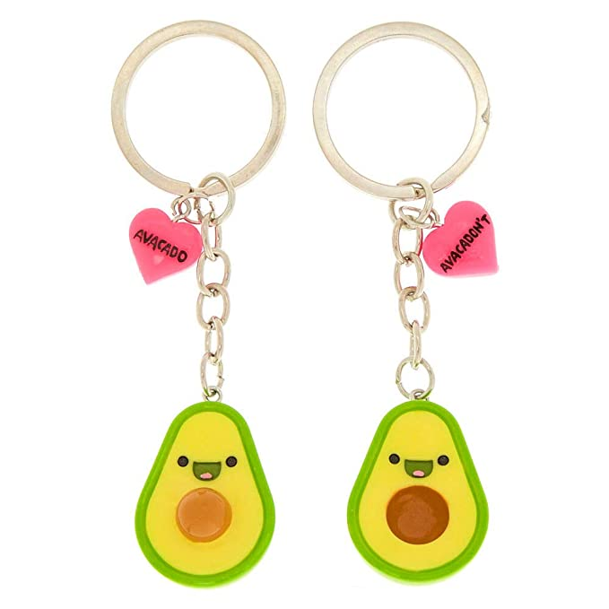Amazon.com: Claire s Girl s aguacate BFF Llaveros ...