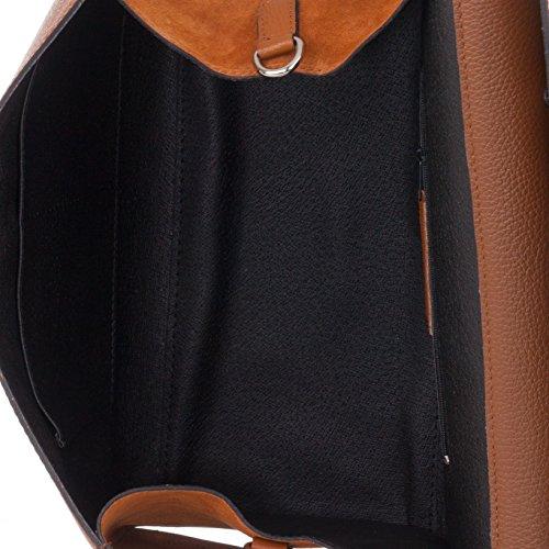 métallique à Laura main Moretti et Sac Leather en lisse cuir wHq1Zq8