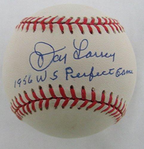 (Don Larsen NY Yankees 1956 WS Perfect Game Signed OAL Baseball JSA 136601)