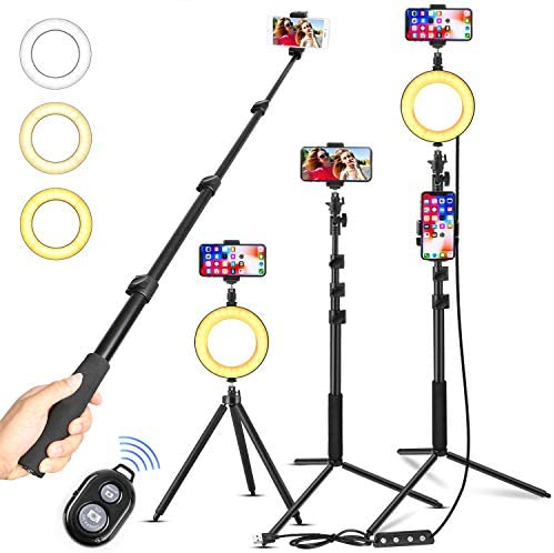Dimmable Ringlight YouTube Portable Compatible product image